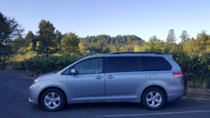 Toyota Sienna Seats 7 Guests